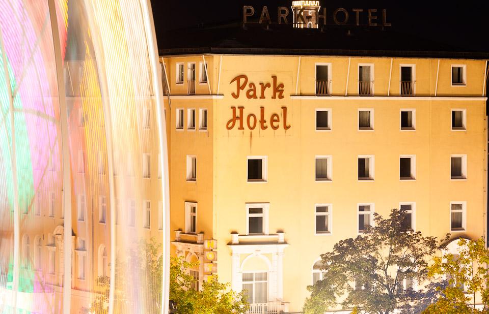 Kärwa Fürther Freiheit, Park Hotel, Riesenrad