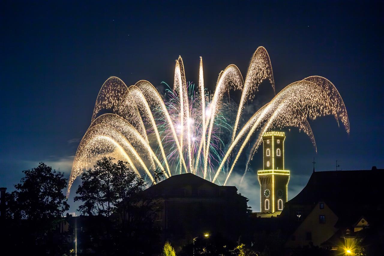 Kärwa Feuerwerk Fürth 2015