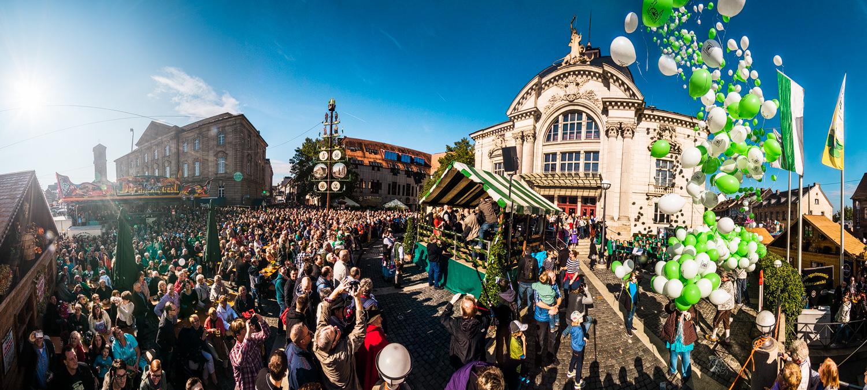 Kärwa Eröffnung Fürth 2015