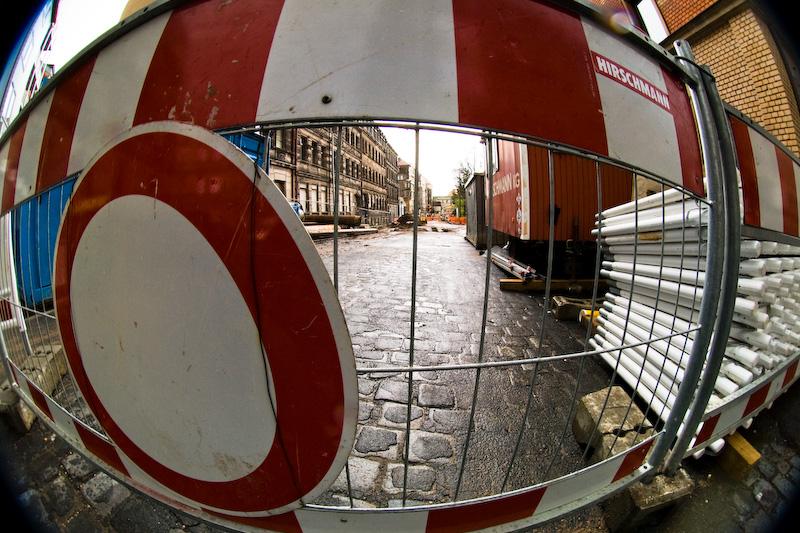 Badstraße Baustelle