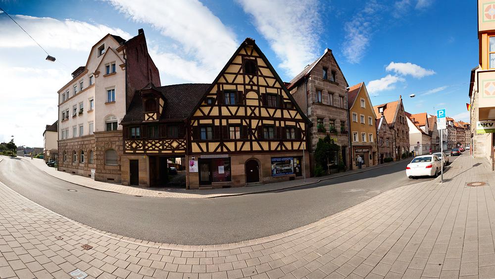 Panorama Königstraße Fürth