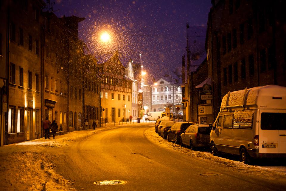 Fürth im Schnee