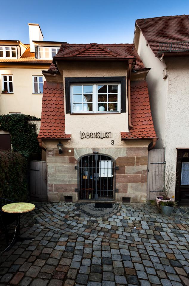 Fürths kleinstes Haus