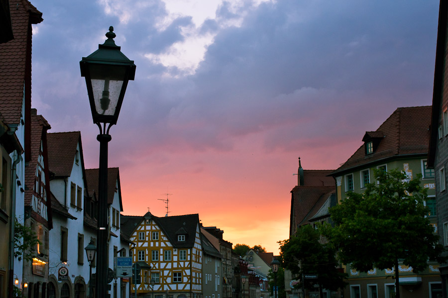 Sonnenuntergang Fürth