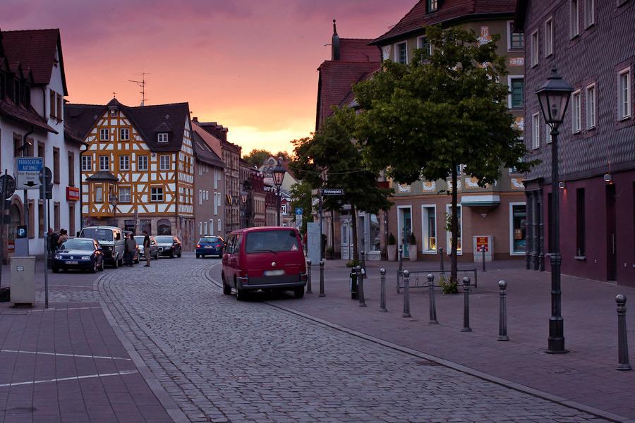 Parken Fürth Gustavstraße