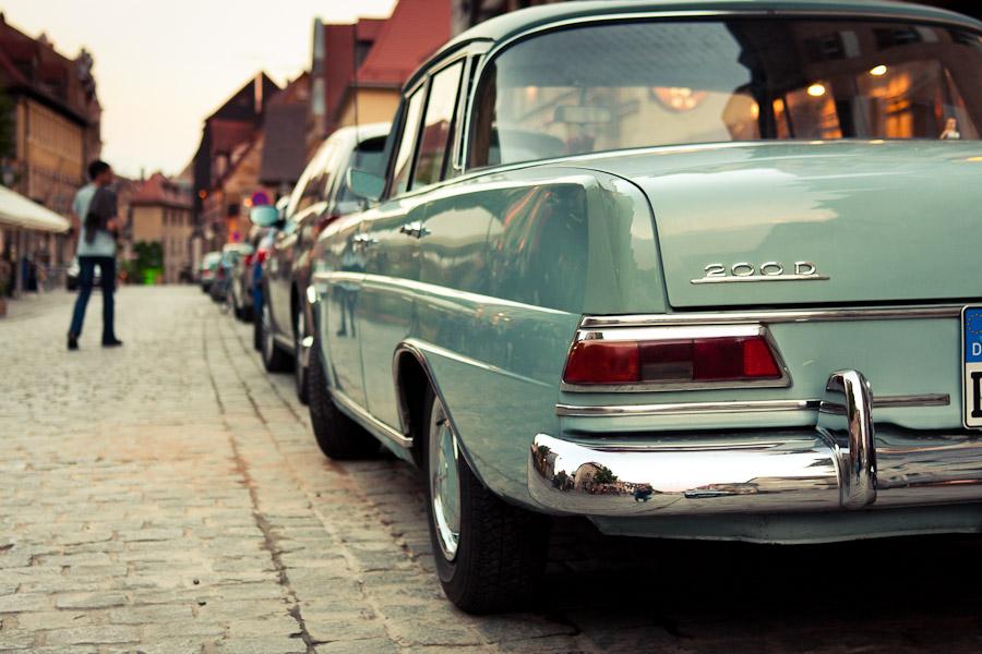 Gustavstraße Auto Oldtimer Mercedes