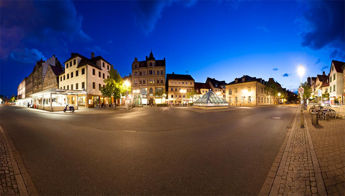 Panorama Königstraße