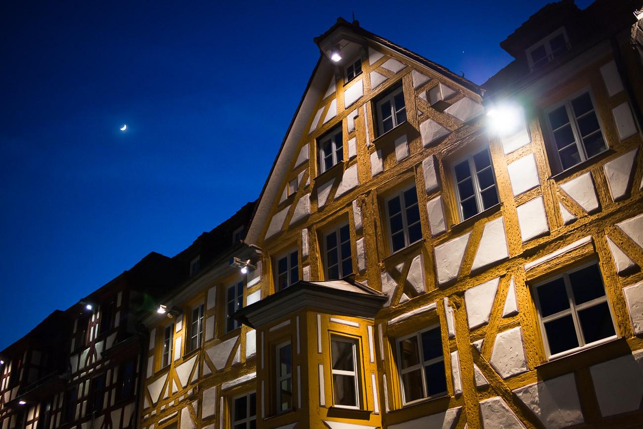 Gelbe Hausfassade Grüner Markt Marktplatz 11