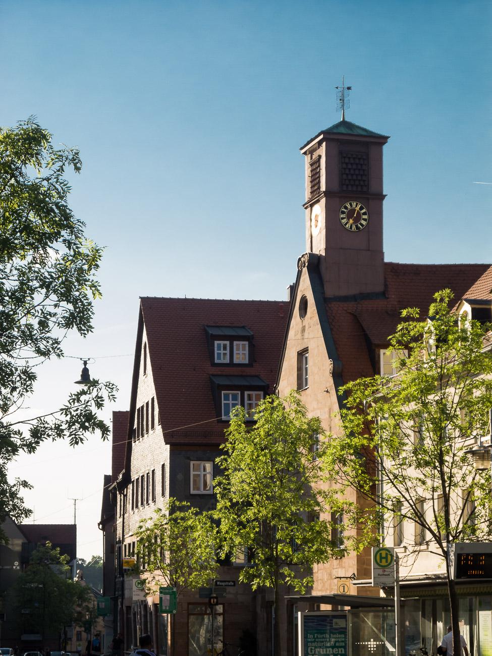 Königstraße / Waagstraße Architektur mit Türmchen