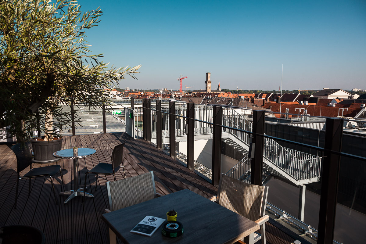 Cafe Terrazza In Der Neuen Mitte Fürth Faszination Fürth