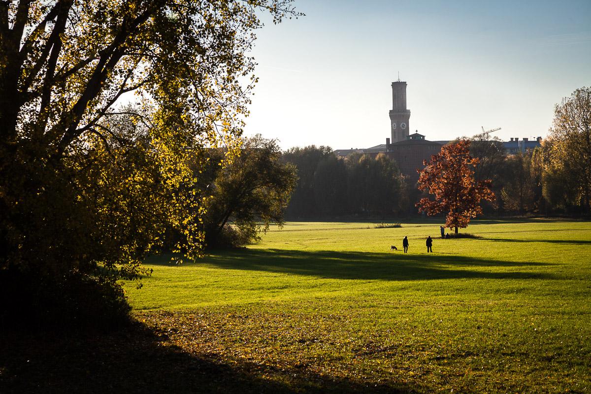 Herbstlicher Blick auf Fürth im Wiesengrund