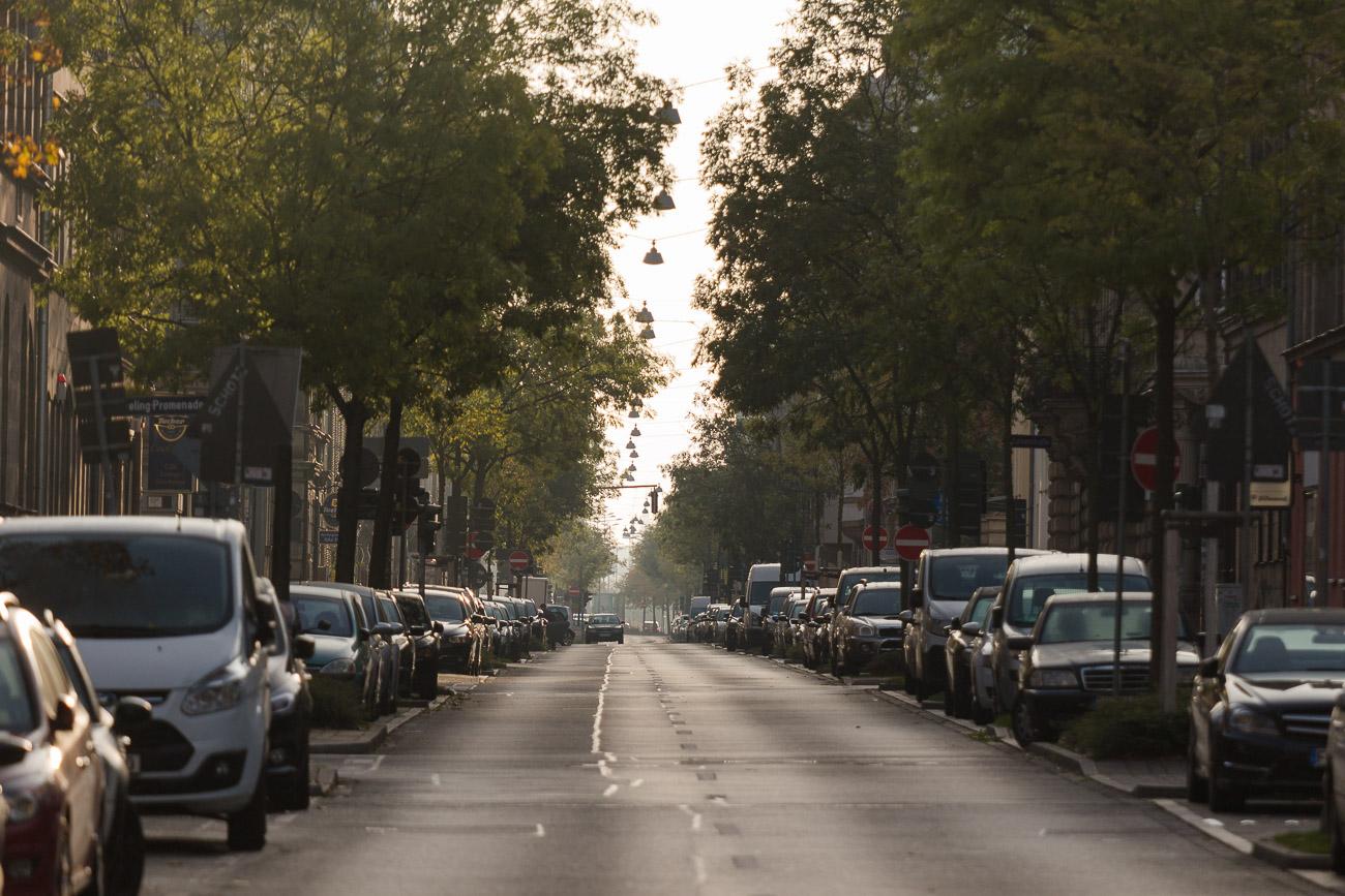 Nürnberger Straße in Fürth