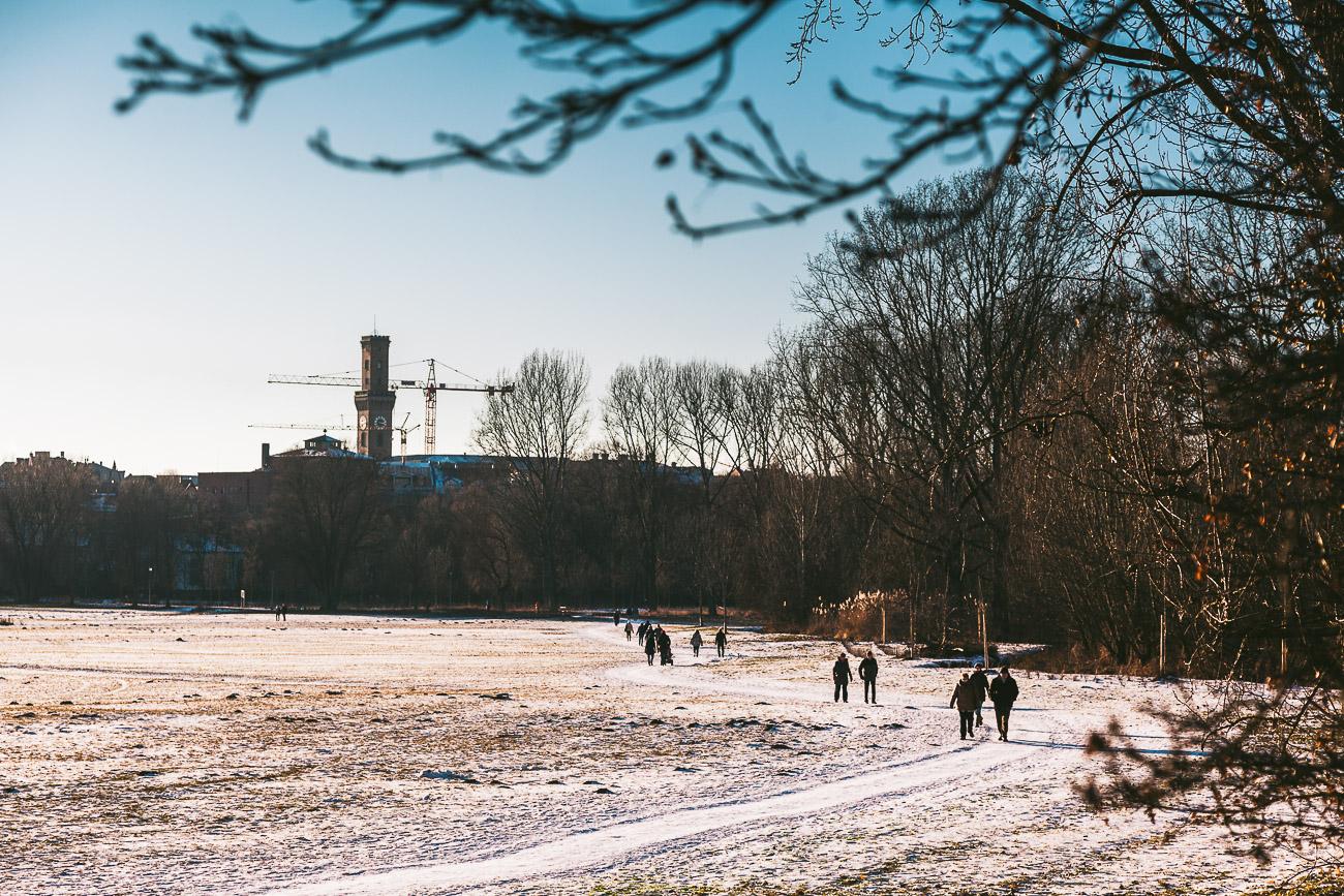 Winterliches Fürth