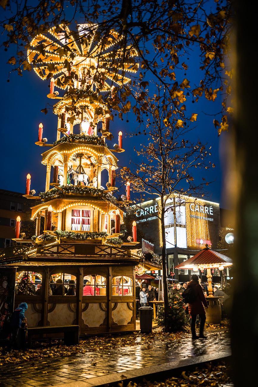 Fürther Weihnachtsmarkt mit Mittelaltermarkt