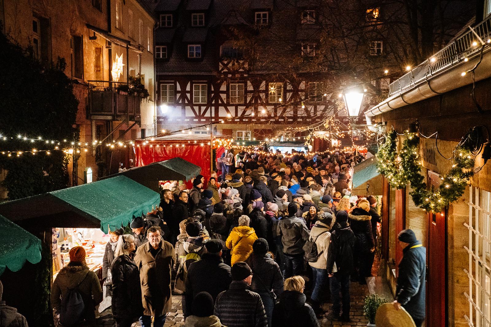 Altstadtweihnachtsmarkt in Fürth