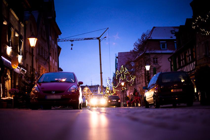 Weihnachtliche Gustavstraße Fürth