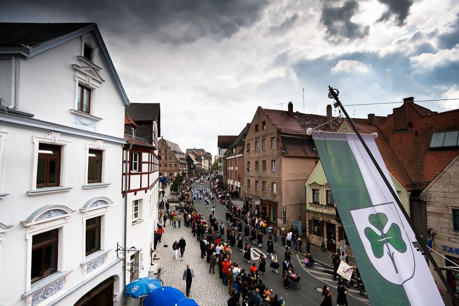 Erntedankfestzug Fürther Kirchweih