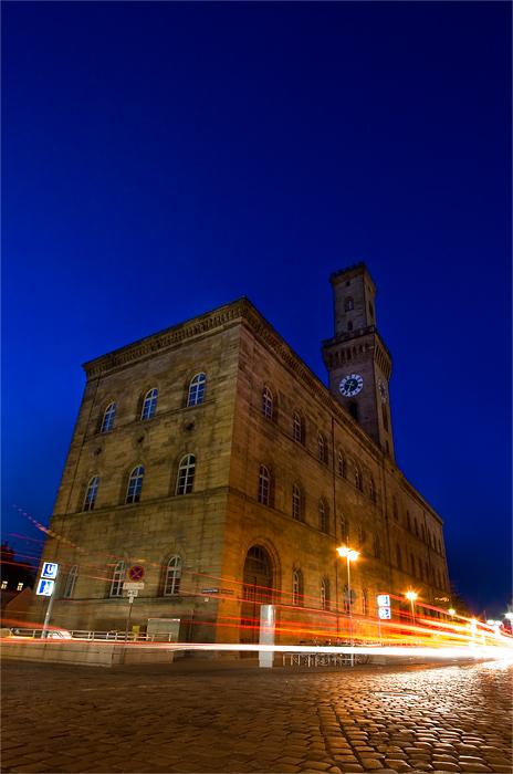 Rathaus zur Dämmerung Fürth