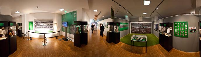 Panorama Ronhof Ausstellung im Ronhof