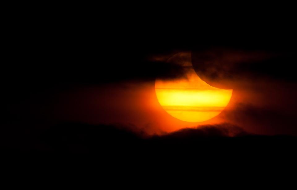 Foto Sonnenfinsternis