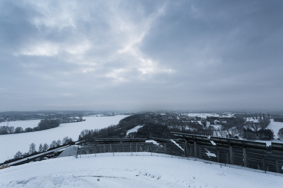 Fürth im Winter / Solarberg