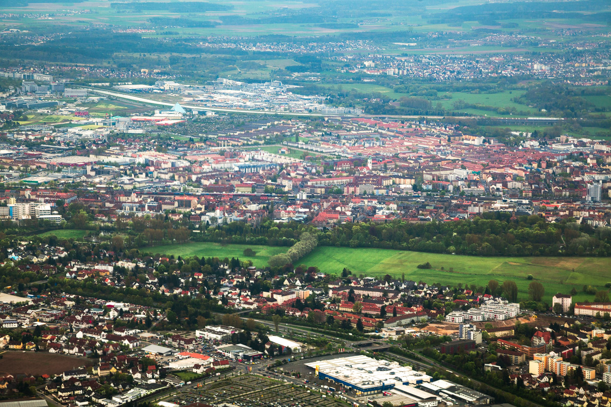 Fürth aerial