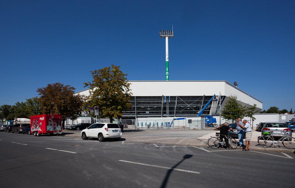 Umbau Trolli Arena