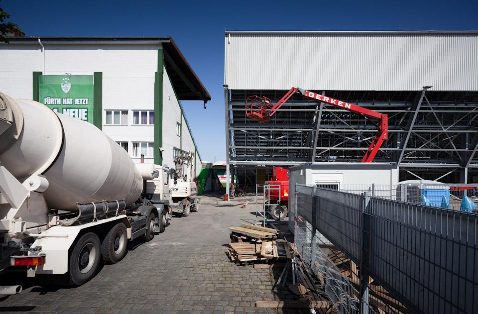 Umbau Sportpark Ronhof