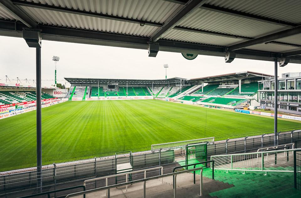 Sportpark Ronhof nach dem Umbau