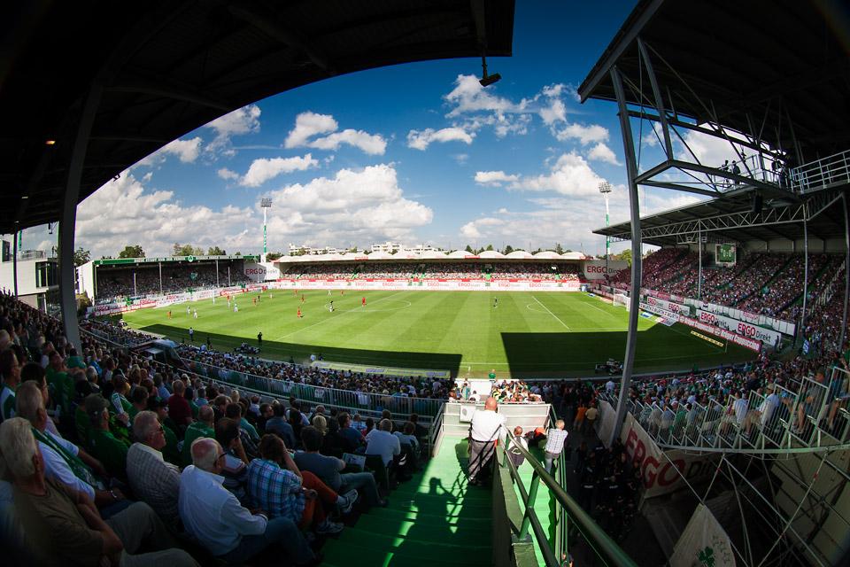 Stadionansicht Fürth