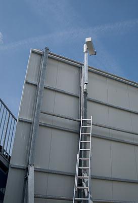 Videoüberwachung im Ronhof