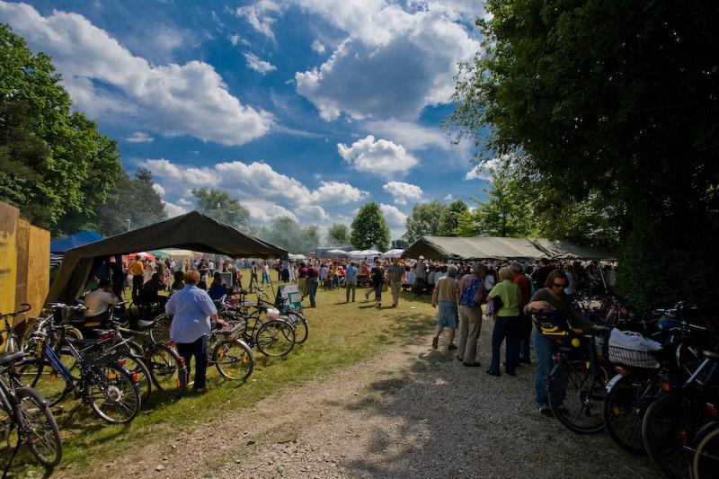 Wasserrad Stadeln Fürth 2008 Wasserradfest