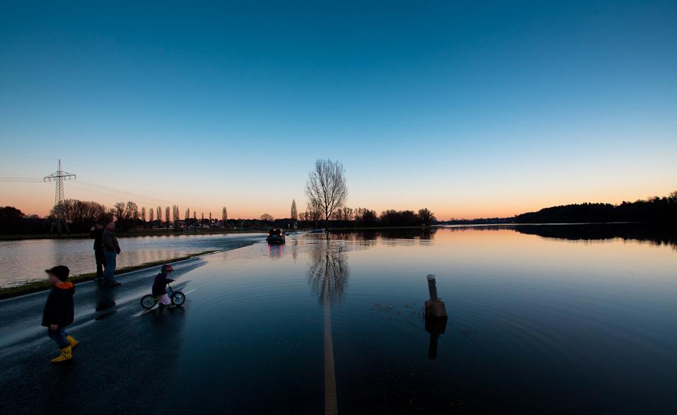 Hochwasser und Überschwemmung in Fürth