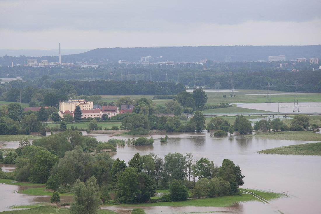 Hochwasser Vach