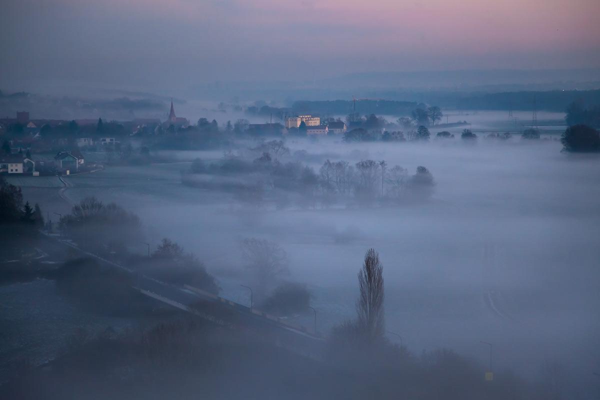 Vach im Nebel