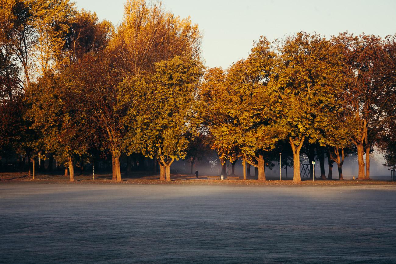 Fürth im Herbstnebel