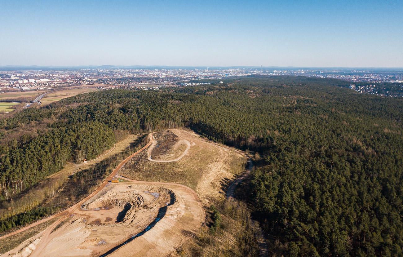 Erddeponie Fürth Stadtwald