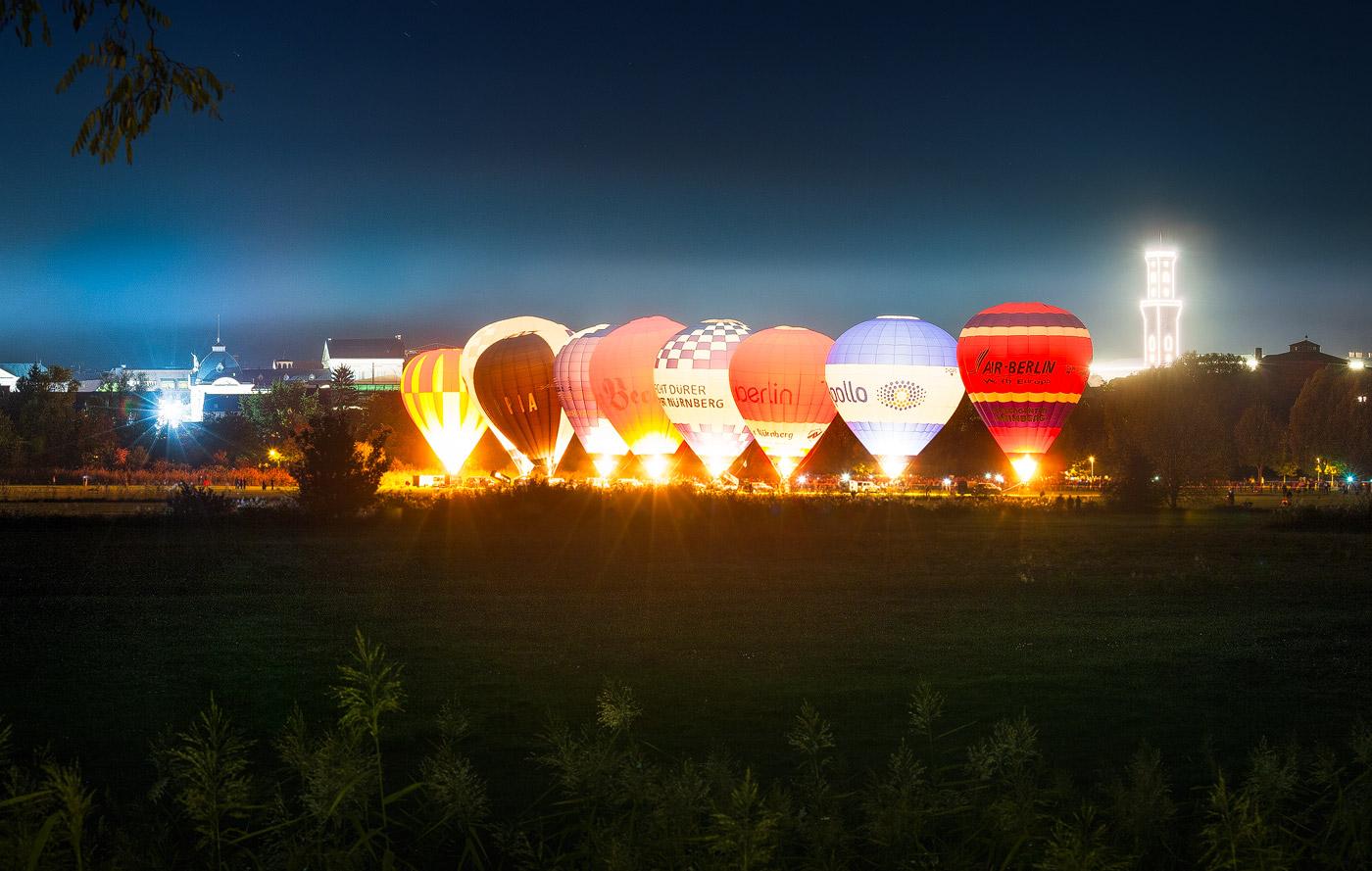 Ballonglühen Fürth