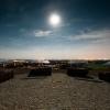 Fürther Solarberg im Mondlicht