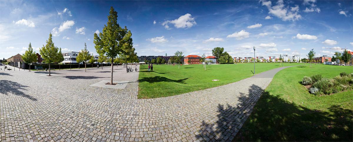 Panorama Südstadtpark Fürth