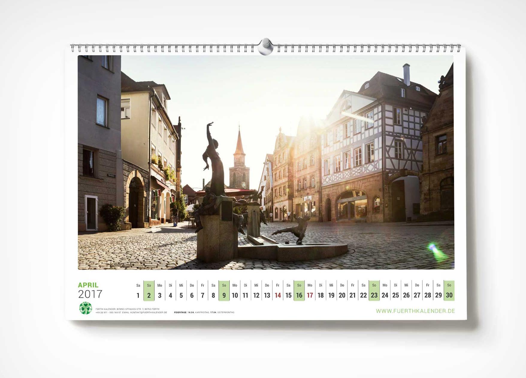 Fürth Kalender 2017