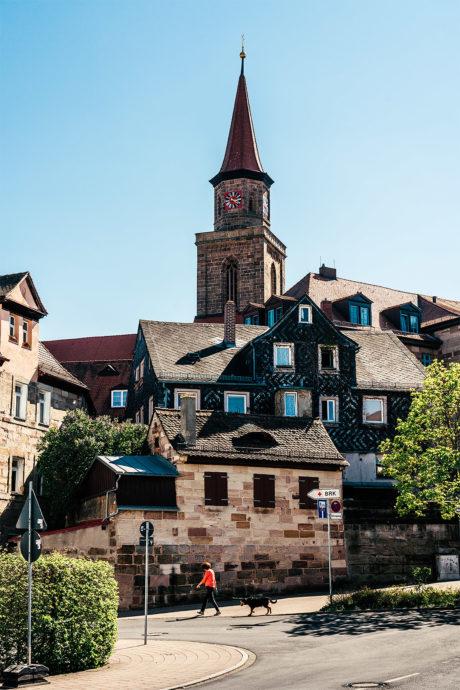 Altstadt Fürth Kirche St.Michael