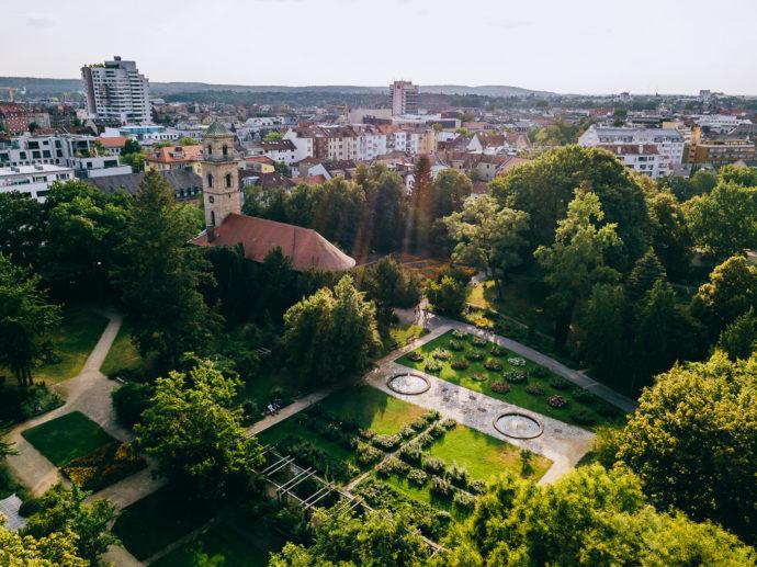 Rosengarten Fürth im Stadtpark