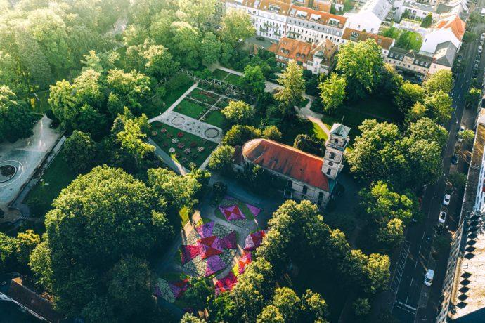 Stadtpark Fürth Rosengarten