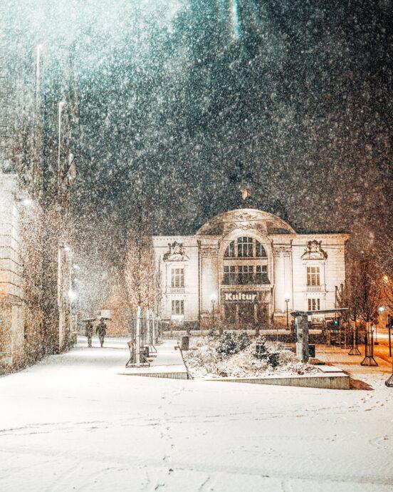 Fürth Schnee